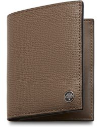 Mulberry - Trifold Wallet With Tree Plaque - Lyst