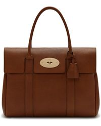 Mulberry - Heritage Bayswater In Oak Natural Grain Leather - Lyst