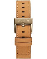 MVMT - Chrono - 20mm Tan Leather - Lyst