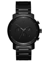 MVMT - Chrono Brushed Stainless Steel Watch  - Lyst