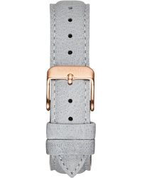 MVMT - Boulevard - 18mm Light Grey Leather - Lyst