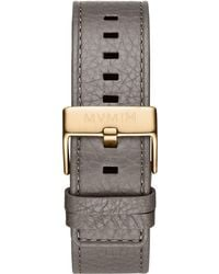 MVMT - Classic - 24mm Sage Green Leather - Lyst