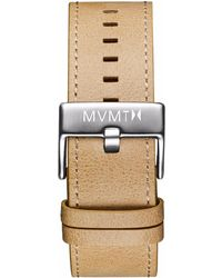 MVMT - Classic - 24mm Sandstone Leather - Lyst