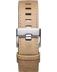 MVMT - Chrono - 22mm Sandstone Leather - Lyst