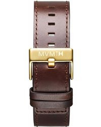 MVMT - Classic - 24mm Brown Leather - Lyst