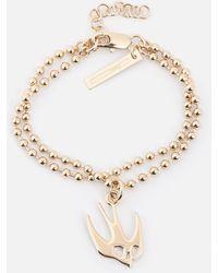 McQ - Swallow Bracelet - Lyst