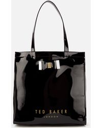Ted Baker Sofcon Soft Large Icon Bag - Black