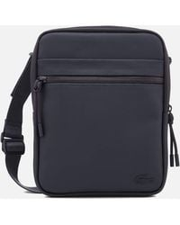 Lacoste | L.12.12 Concept M Flat Crossover Bag | Lyst
