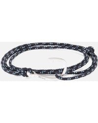 Miansai - Rope Bracelet With Silver Hook - Lyst