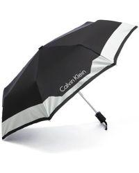Calvin Klein - Medium Foldable Umbrella - Lyst