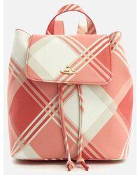 Vivienne Westwood - Women's Derby Tartan Mini Backpack - Lyst