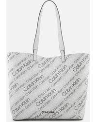 Calvin Klein - Inside Out Large Shopper Bag - Lyst