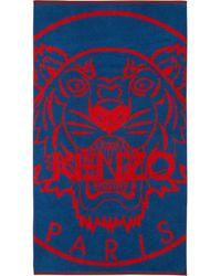KENZO - Newtiger Beach Towel - Lyst
