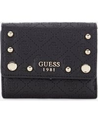 Guess - Coast To Coast Trifold Wallet - Lyst