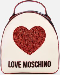 Love Moschino - Sequin Heart Backpack - Lyst