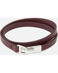 Miansai - Moore Wrap Bracelet With Silver Catch - Lyst