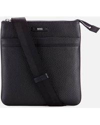 BOSS - Traveller Zip Cross Body Bag - Lyst