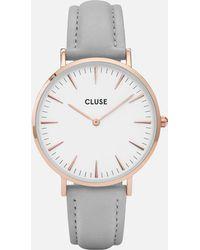Cluse - La Bohème Leather Watch - Lyst