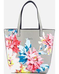 Joules - Revery Print Reversible Shoulder Bag - Lyst