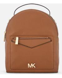 MICHAEL Michael Kors - Jessa Small Convertible Backpack - Lyst