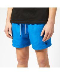 8680651360 Ted Baker Stork Print Swim Shorts in Blue for Men - Lyst