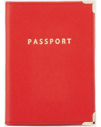 Aspinal of London - Passport Cover - Lyst