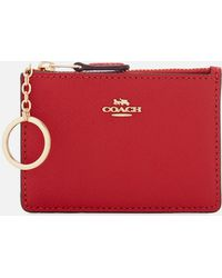 COACH - Crossgrain Mini Skinny Id Wallet - Lyst
