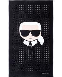 Karl Lagerfeld - K/ikonik Towel - Lyst
