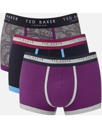 Ted Baker - Geena 3 Pack Boxer Shorts - Lyst