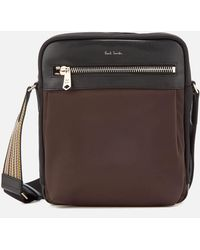 Paul Smith - Stripe Detail Crossbody Bag - Lyst