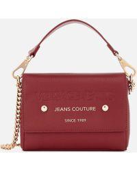 Versace Jeans - Top Handle Chain Cross Body Bag - Lyst 025c095e53b99