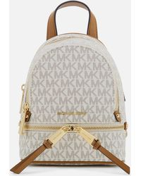 MICHAEL Michael Kors - Extra Small Messenger Backpack - Lyst