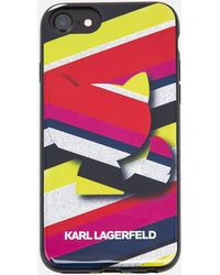 Karl Lagerfeld - K/stripes Phone Case - Lyst