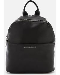 Armani Exchange - Eco Logo Backpack - Lyst