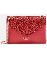 Guess | Ever After Convertible Flap Bag | Lyst