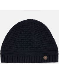 Ted Baker - Austell Knitted Hat - Lyst 0b0aa8f46f39