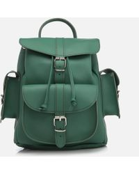 Grafea - Women's Medium Leather Rucksack - Lyst