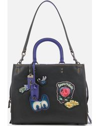 COACH - Disney X Coach Dark Fairytale Patches Rogue Bag - Lyst