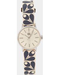 Orla Kiely - Patricia Print Leather Watch - Lyst