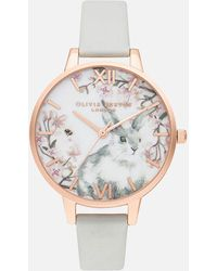 Olivia Burton Pretty Blossom Watch - Metallic