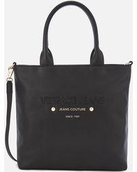 Versace Jeans - Logo Print Shopper Bag - Lyst