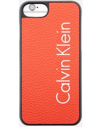 Calvin Klein - Fluid Click On Shell Iphone 7 Case - Lyst