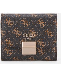 Guess - Mia Small Trifold Purse - Lyst