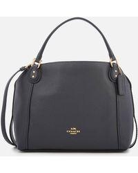 COACH - Leather Edie 28 Shoulder Bag - Lyst