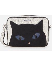 PS by Paul Smith - Silver Cat Cross Body Bag - Lyst