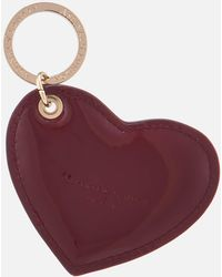 Aspinal - Patent Heart Keyring - Lyst