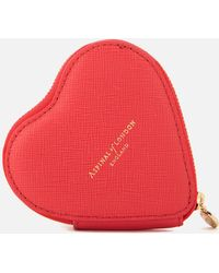 Aspinal - Heart Coin Purse - Lyst