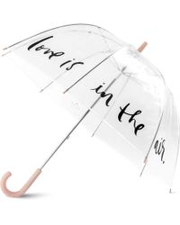 Kate Spade - Bridal Umbrella- Love Is In The Air - Lyst