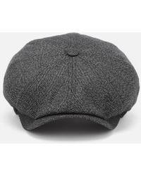 f6cf0daaea460d Ted Baker - Tspoon Herringbone Bakerboy Hat - Lyst