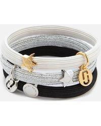 Marc Jacobs - Mj Double Cut Out Pony Bracelet - Lyst